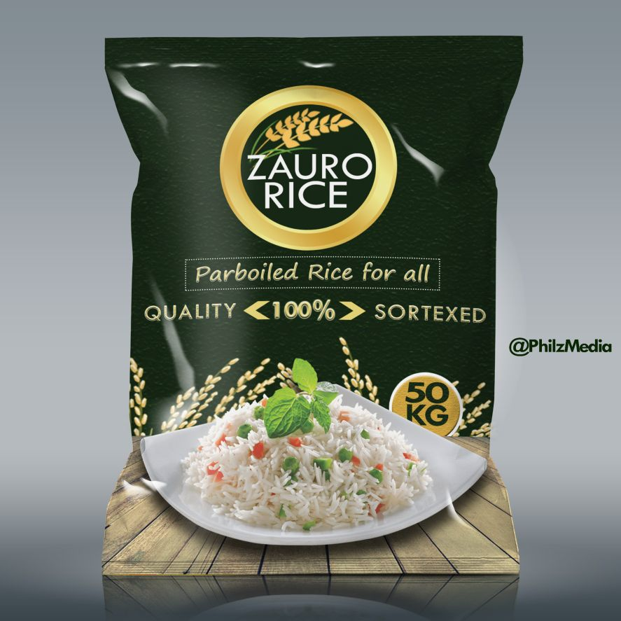 Product/Package Design for Zauro Rice Company