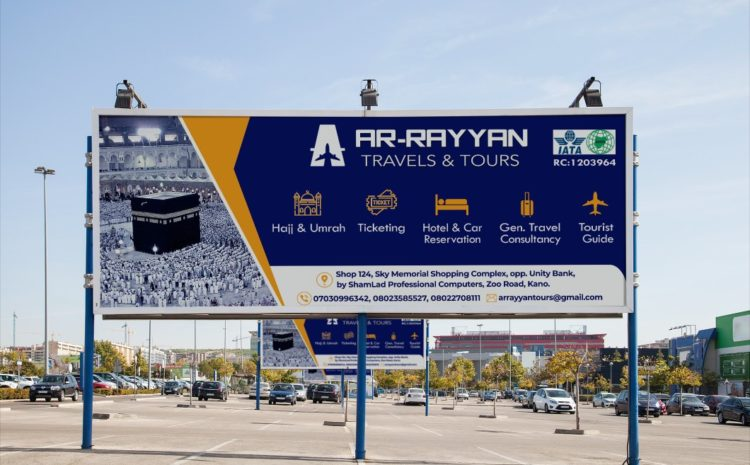 Signboard Graphic Design Services in Kano, Kano state, Nigeria and Post board Graphics